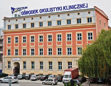 Siedziba OOK Spektrum przy ul. Zaolziańskiej 4 we Wrocławiu
